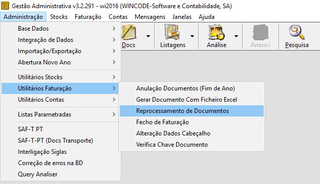 Reprocessamento de Documentos